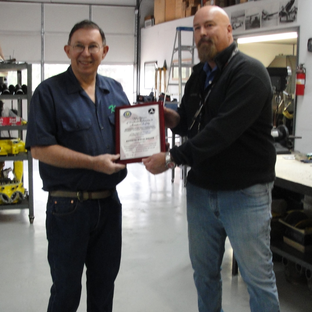 Awards - The Charles Taylor Master Mechanic